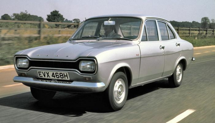 Ford escort mk1 history